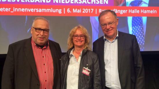 Ludger Bugla, Isabel Jagst, Stephan Weil