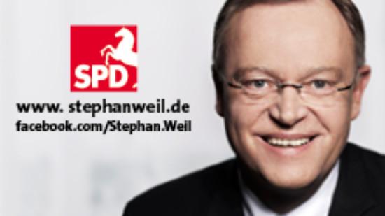 Banner Stephan Weil
